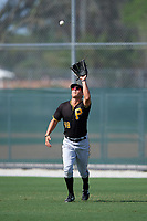 Pittsburgh Pirates Logan Hill (48) during a minor league Spring Training intrasquad game on April 3, 2016 at Pirate City in Bradenton, Florida.  (Mike Janes/Four Seam Images)