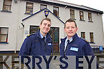 Killarney Gardai Michael Milner and Trevor Ryan who rescued an eldery woman from a house fire in Countess Road Killarney.