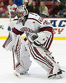 Merrick Madsen (Harvard - 31) - The Harvard University Crimson defeated the visiting Cornell University Big Red on Saturday, November 5, 2016, at the Bright-Landry Hockey Center in Boston, Massachusetts.