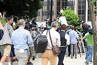 NORRISTOWN, PA - JUNE 16 :  Press cover Bill Cosby as he enters the Montgomery County Courthouse on the tenth day of Bill Cosby's sexual assault trial and the fourth full day of jury deliberation on June 16, 2017 in Norristown, Pennsylvania.  photo credit  Star Shooter/MediaPunch