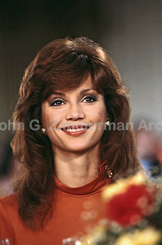 "Victoria Principal as Pam Ewing, ""Dallas"" South Fork Ranch, Texas, 1980. Photo by John G. Zimmerman"