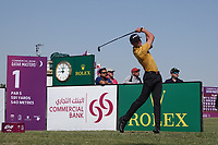 Wilco Nienaber(am)(RSA) in action during the final round of the Commercial Bank Qatar Masters, Doha Golf Club, Doha, Qatar. 10/03/2019<br /> Picture: Golffile | Phil Inglis<br /> <br /> <br /> All photo usage must carry mandatory copyright credit (&copy; Golffile | Phil Inglis)
