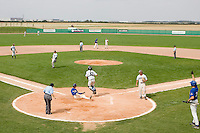 12 Aug 2007: David Meurant slides safely into home plate during game 5 of the french championship finals between Templiers (Senart) and Huskies (Rouen) in Chartres, France. Huskies defeated Templiers 9-8 to win their fourth french championship.
