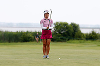 Su Oh (AUS) gets ready to hit her second shot on the second hole during the final round of the ShopRite LPGA Classic presented by Acer, Seaview Bay Club, Galloway, New Jersey, USA. 6/10/18.<br /> Picture: Golffile | Brian Spurlock<br /> <br /> <br /> All photo usage must carry mandatory copyright credit (&copy; Golffile | Brian Spurlock)