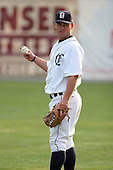 July 7th 2008:  Eric Harryman of the Oneonta Tigers, Class-A affiliate of Detroit Tigers, during a game at Damaschke Field in Oneonta, NY.  Photo by:  Mike Janes/Four Seam Images