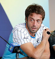 2nd January 2020; RAC Arena , Perth, Western Australia, Australia; ATP Cup Team Press conferences, Spain; Paolo Lorenzi of Italy speaks at the teams press conference - Editorial Use