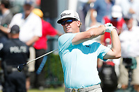 Charley Hoffman (USA) tees off on the first hole during the third round of the 118th U.S. Open Championship at Shinnecock Hills Golf Club in Southampton, NY, USA. 16th June 2018.<br /> Picture: Golffile | Brian Spurlock<br /> <br /> <br /> All photo usage must carry mandatory copyright credit (&copy; Golffile | Brian Spurlock)