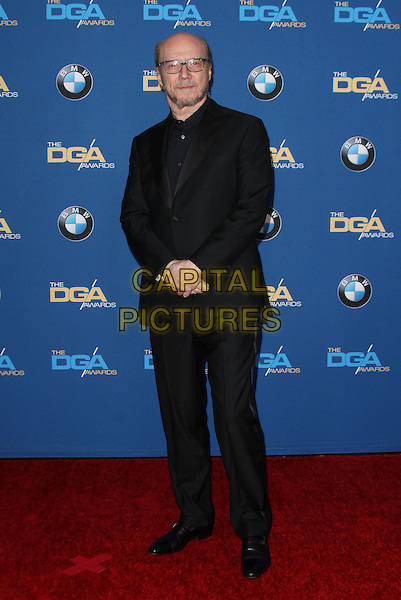 06 February 2016 - Los Angeles, California - Paul Haggis. 68th Annual DGA Awards 2016 - Arrivals held at the Hyatt Regency Century Plaza. Photo Credit: AdMedia