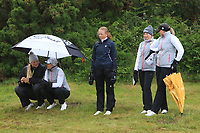 Watching play at the 16th green during Matchplay Semi-Finals of the Women's Amateur Championship at Royal County Down Golf Club in Newcastle Co. Down on Saturday 15th June 2019.<br /> Picture:  Thos Caffrey / www.golffile.ie