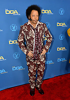 LOS ANGELES, CA. February 02, 2019: Boots Riley at the 71st Annual Directors Guild of America Awards at the Ray Dolby Ballroom.<br /> Picture: Paul Smith/Featureflash