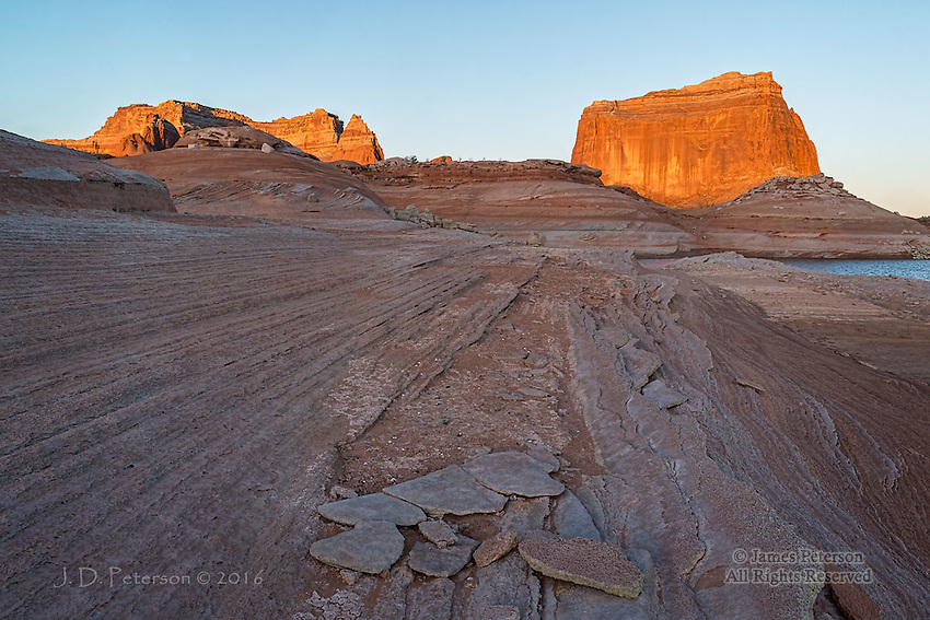 First Light at Face Canyon