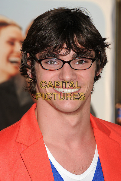 "RJ Mitte.""Larry Crowne"" Los Angeles Premiere held at Grauman's Chinese Theatre, Hollywood, California, USA..June 27th, 2011.headshot portrait glasses orange red white blue.CAP/ADM/BP.©Byron Purvis/AdMedia/Capital Pictures."