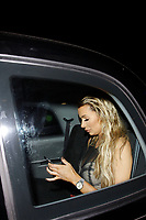LONDON, ENGLAND - SEPTEMBER 10 :  Olivia Attwood leaves the TV Choice Awards 2018, at The Dorchester hotel, on September 10, 2018 in London, England.<br /> CAP/AH<br /> &copy;AH/Capital Pictures