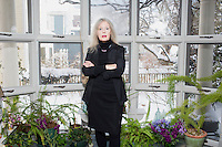Elaine Scarry, photographed here in her home in Cambridge, Massachusetts, is the Walter M. Cabot Professor of Aesthetics and the General Theory of Value at Harvard University. She has just written a book called Thermonuclear Monarchy: Choosing Between Democracy and Doom, published by W. W. Norton & Company to be released on February 17, 2014.The book presents a case for the elimination of nuclear weapons.