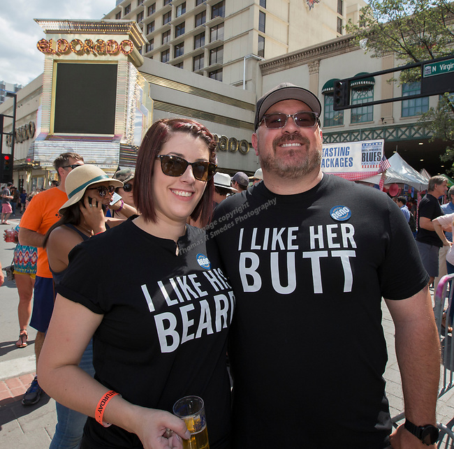 A photograph taken during the 24th Annual Great Eldorado Brews and Blues Festival in Reno, Nevada on Saturday, June 15, 2019.