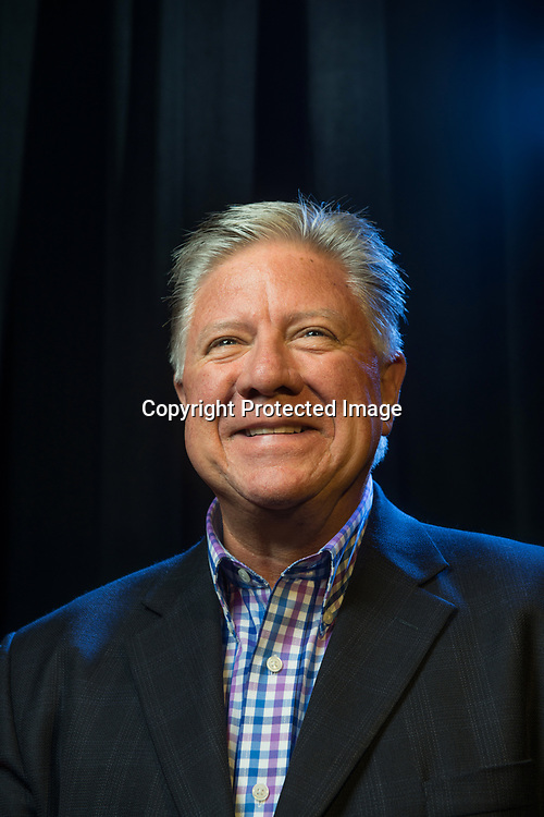 Marysville Parks Director Jim Ballew, photographed at the newly renovated Marysville Opera House. Photo by Daniel Berman