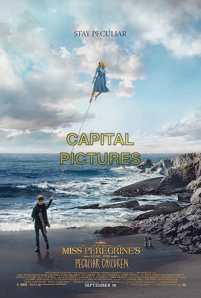 Miss Peregrine's Home for Peculiar Children (2016) <br /> POSTER ART<br /> *Filmstill - Editorial Use Only*<br /> CAP/FB<br /> Image supplied by Capital Pictures