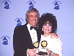 Burt Bacharach abd Carole Bayer Sager 1987 Grammy Awards.© Chris Walter.