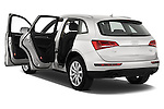Rear three quarter door view of a 2009 - 2012 Audi Q5 Ambiente 5 Door Suv 4WD