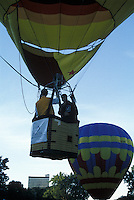 Hot Air Balloon Launching at Balloon Fiesta