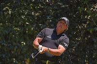 Phil Mickelson (USA) watches his tee shot on 3 during round 4 of the World Golf Championships, Mexico, Club De Golf Chapultepec, Mexico City, Mexico. 3/4/2018.<br /> Picture: Golffile | Ken Murray<br /> <br /> <br /> All photo usage must carry mandatory copyright credit (&copy; Golffile | Ken Murray)