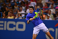 Washington, DC - August 4, 2017: Tommy Paul plays during a quarterfinal match with Kei Niishikori at the Citi Open held at the Rock Creek Tennis Center in Washington, D.C., August 4, 2017.  (Photo by Don Baxter/Media Images International)