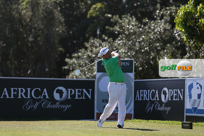 Damien McGrane (IRL) powers the ball down the 1st during Round Two of the Africa Open 2015 at the East London Golf Club, East London, Eastern Cape, South Africa. Picture:  David Lloyd / www.golffile.ie. 06/03/2015