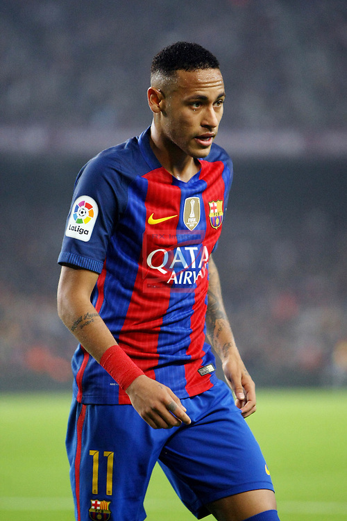 League Santander 2016/2017. Game: 10.<br /> FC Barcelona vs Granada CF: 1-0.<br /> Neymar Jr.