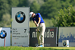 Simon Thornton (IRL) tees off on the 7th tee during Day 2 of the BMW Italian Open at Royal Park I Roveri, Turin, Italy, 10th June 2011 (Photo Eoin Clarke/Golffile 2011)