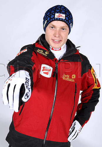 16.10.2010  Winter sports OSV Einkleidung Innsbruck Austria. Ski Nordic Nordic Combination OSV Austrian Ski Federation. Picture shows Alexander Brandner AUT
