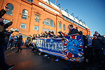 The Union Bears fan group have a 10 year anniversary march to Ibrox Stadium ahead of today's match