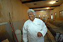 Chef Leah Chase looks around the new renovations of her famous restaurant, Dooky Chase, which was flooded out during Hurricane Katrina, New Orleans, Friday, March 9, 2007..(AP Photo/Cheryl Gerber).