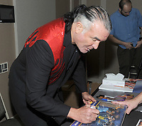 """NEW YORK, NY - NOVEMBER 4: Scott Hall aka Razor Ramon  from the """"Powers of Pain"""" attends the Big Event NY at LaGuardia Plaza Hotel on November 4, 2017 in Queens, New York.  Credit: George Napolitano/MediaPunch /NortePhoto.com"""