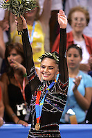 August 29, 2004; Athens, Greece; Rhythmic gymnastic star ALINA KABAEVA of Russia won gold in All-Around competition at 2004 Athens Olympics.<br />