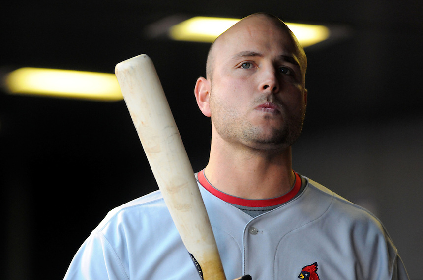 September 25, 2009: Cardinals outfielder Matt Holliday during a regular season game between the St. Louis Cardinals and the Colorado Rockies at Coors Field in Denver, Colorado. The Rockies beat the Cardinals 2-1. *****For editorial use only*****