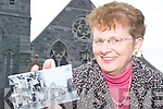 History repeats: Margaret Maher, one of the revivers of the 1870 tradition of the 40 Eucharistic Adoration Mission at St Mary's in the Square Listowel, which will welcome The Friars of Moyross to the town on May 9th to 11th.   Copyright Kerry's Eye 2008