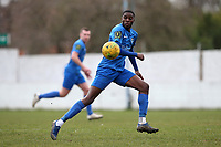 Jordan Peart of Barking during Barking vs South Park, BetVictor League South Central Division Football at Mayesbrook Park on 7th March 2020