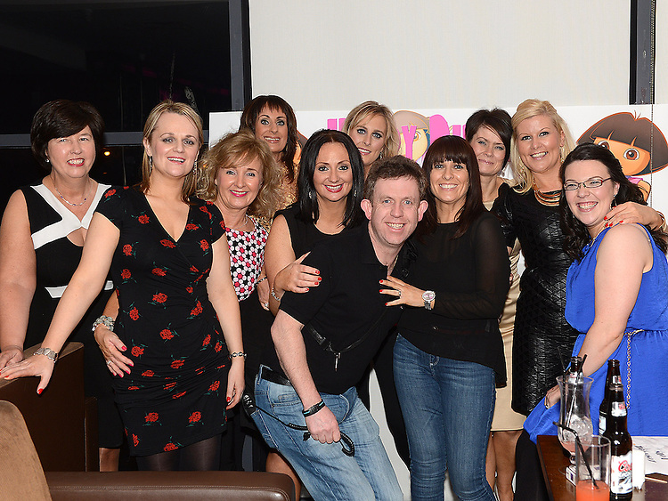 Tracy Kelly celebrating her 40th birthday in Brú with all her workmates from Maher's Chemist West street. Photo:Colin Bell/pressphotos.ie