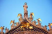 St. Mark's Basilica (Chiessa di San Marco), Piazza San Marco, Venice, Italy