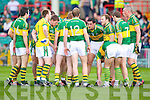 The Kerry team last Saturday evening before they played Limerick in the Muster Semi final held in The Gaelic Grounds.