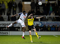 Bolton Wanderers' Josh Emmanuel competing with Burton Albion's Jamie Murphy (right) <br /> <br /> Photographer Andrew Kearns/CameraSport<br /> <br /> The Premier League - Leicester City v Aston Villa - Monday 9th March 2020 - King Power Stadium - Leicester<br /> <br /> World Copyright © 2020 CameraSport. All rights reserved. 43 Linden Ave. Countesthorpe. Leicester. England. LE8 5PG - Tel: +44 (0) 116 277 4147 - admin@camerasport.com - www.camerasport.com