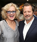 Christine Ebersole and Rob Ashford during the Rob Ashford portrait unveiling for the Sardi's Wall of Fame on October 10, 2018 at Sardi's Restaurant in New York City.