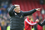 Chris Wilder manager of Sheffield Utd celebrates another win during the Premier League match at Bramall Lane, Sheffield. Picture date: 7th March 2020. Picture credit should read: Alistair Langham/Sportimage