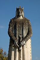 Statue of King Ferdinand II of Aragon, in the gardens of the Alcazar de Cordoba, Cordoba, Andalusia, Spain.