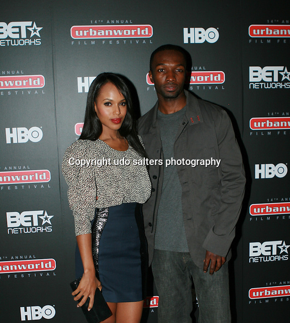 Kerry Washington and Jamie Hector Attends Opening Night Of The 14th Annual Urbanworld Film Festival,AMC 34th Street Theater, New York, 9/16/10