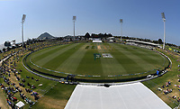 25th November 2019; Mt Maunganui, New Zealand;  General view International test match day 5 of 1st test, New Zealand versus England;  at Bay Oval, Mt Maunganui, New Zealand.
