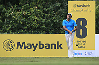 Arjun Atwal (IND) in action on the 8th tee during Round 2 of the Maybank Championship at the Saujana Golf and Country Club in Kuala Lumpur on Friday 2nd February 2018.<br /> Picture:  Thos Caffrey / www.golffile.ie<br /> <br /> All photo usage must carry mandatory copyright credit (&copy; Golffile | Thos Caffrey)