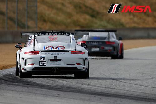 28-30 April, 2016, Monterey, California USA<br /> 21, Jesse Lazare, Platinum, 2015 Porsche<br /> &copy;2016, Jake Galstad<br /> LAT Photo USA