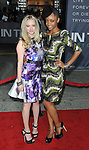 Amanda Seyfried and Yaya DaCosta at the premiere of In Time held at The Regency Village Theater in Westwood, Ca. October 20, 2011