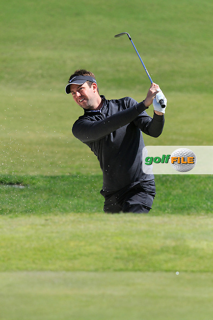 Scott Jamieson (SCO) during Round 2 of the NH Collection Open at the La Reserva de Sotogrande Club de Golf in Cadiz Spain on Friday 4th April 2014<br /> Picture:  Thos Caffrey / www.golffile.ie